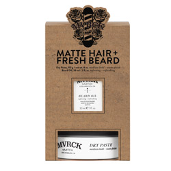 MVRCK MATTE HAIR & FRESH BEARD KIT